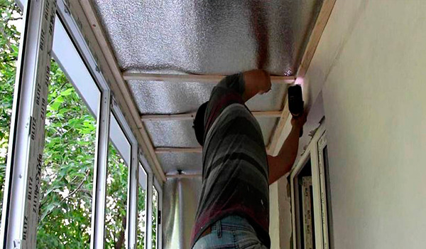 Ремонт и монтаж кровли балкона в Харькове
